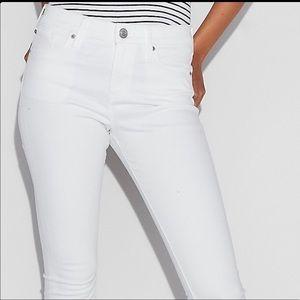 EXPRESS White Jean Leggings 16